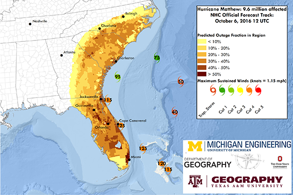 Texas A&M researcher: Matthew's latest tracking models potentially bad scenario for Florida