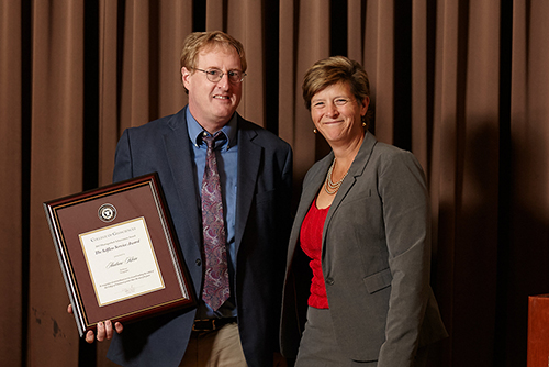 Exemplary Geosciences Faculty And Staff Honored With 2017 Awards