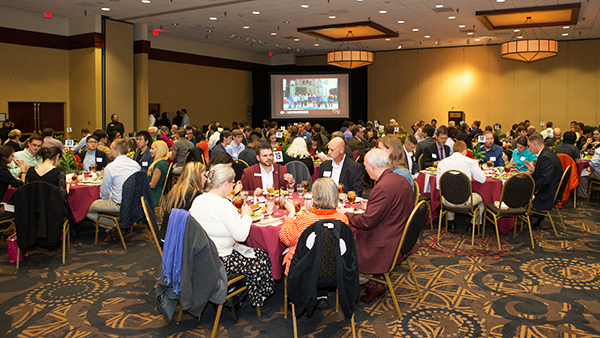 College of Geosciences Hosts Annual Scholarship Banquet