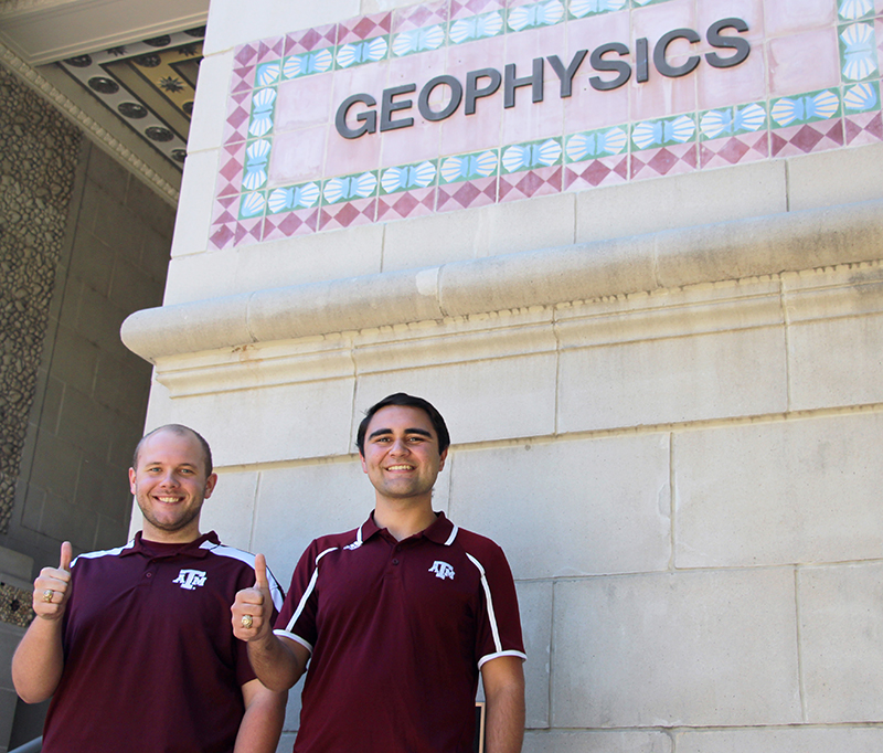 Geophysics Students Recognized at AGU