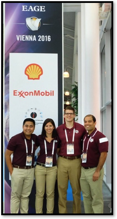 Grad students place 2nd at Global EAGE competition