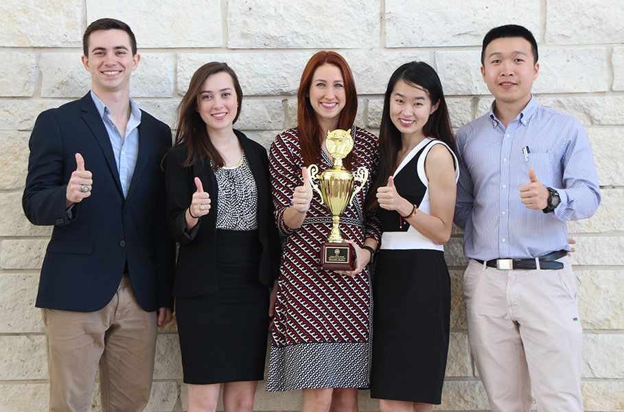 Texas A&M University 2017 Imperial Barrel Award team wins third place at the Gulf Coast Regional IBA Competition