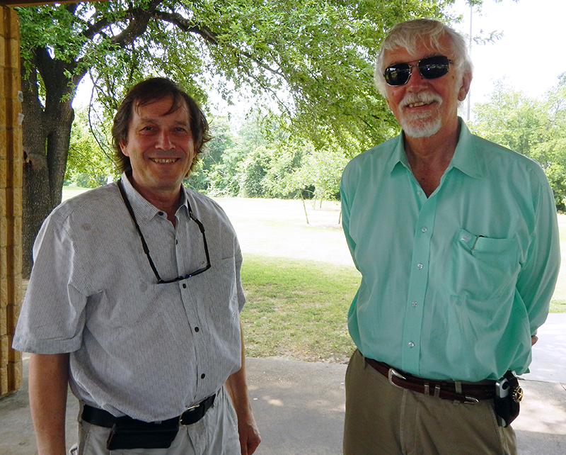 Rick Carlson Honored at Geology & Geophysics Department Picnic