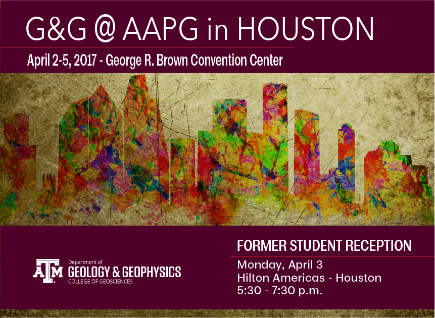Alumni Meeting at AAPG Conference in Houston