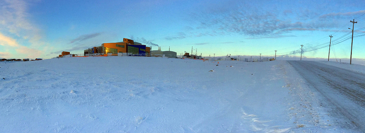 The new Canadian High Arctic Research Station (CHARS) in Cambridge Bay, Nunavut. Photo courtesy of CHARS.