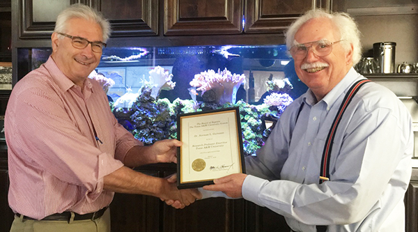 Norman Guinasso named Research Professor Emeritus
