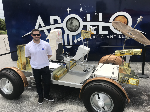 NASA KSC Apollo 50th Anniversary. (Photo courtesy of NASA interns.)