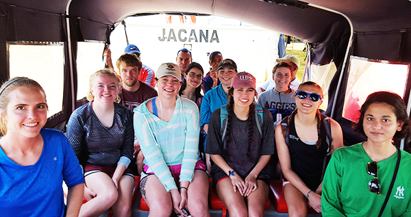 GEOS 405 students return from research trip to Panama