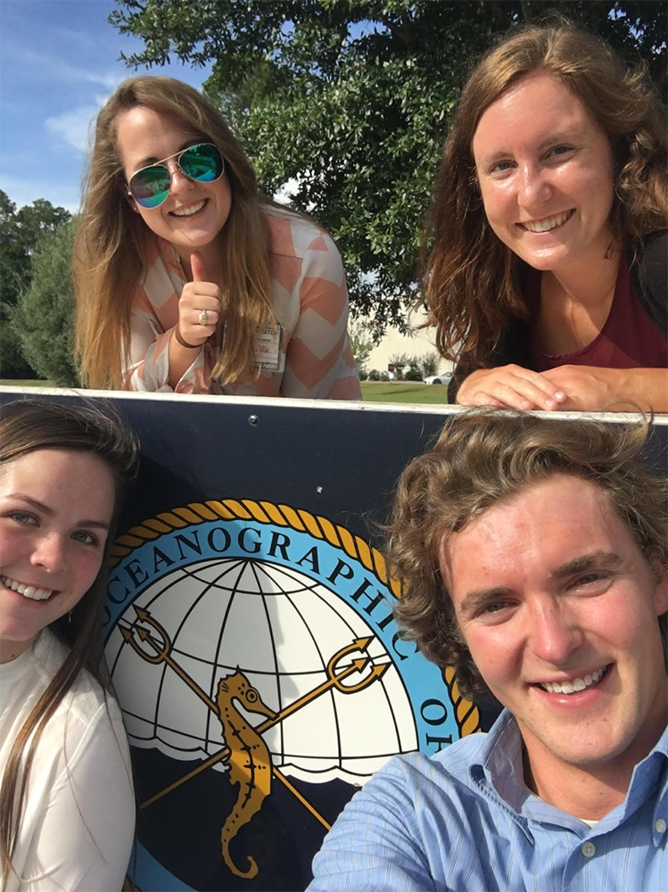 This Aggie Oceanography Student Spent Her Summer with the U.S. Navy