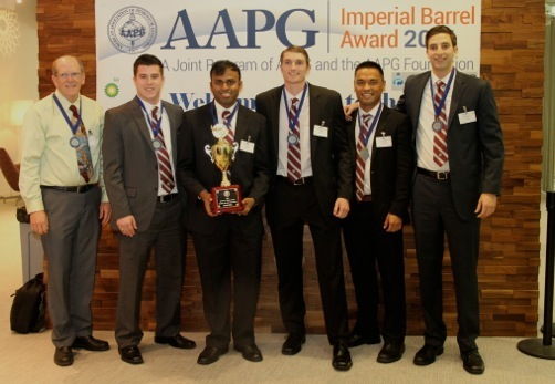 Aggie Geoscientists place second in Gulf Coast AAPG IBA Competition