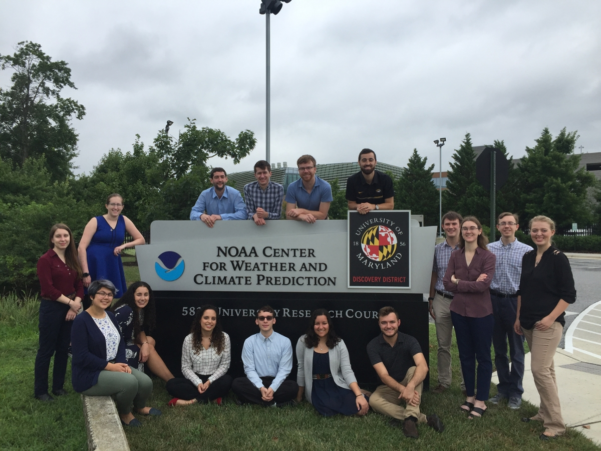 The NOAA Center for Weather and Climate Prediction in College Park, Maryland. Photo courtesy of Nicole Casamassina.