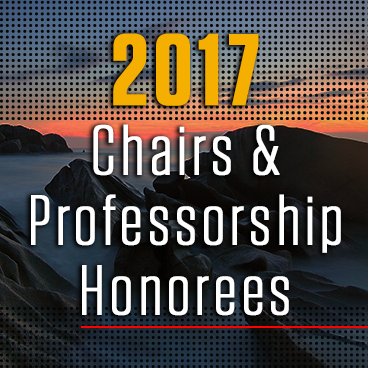 Six Geosciences Faculty Receive Endowed Chairs & Professorship Awards