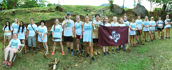 Wine to Water Texas A&M goes to Costa Rica