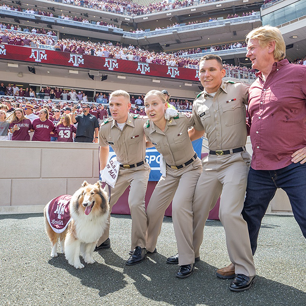 Geography Student And Mascot Corporal Joins Reveille IX On Disney+ Show thumbnail