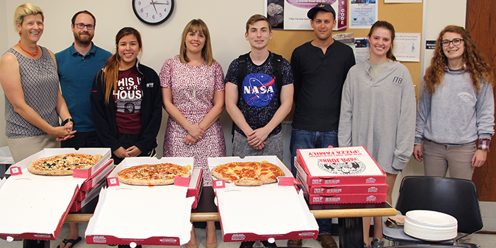 "Future Leaders Learning from the Pros: ""Pizza With A Pro"""