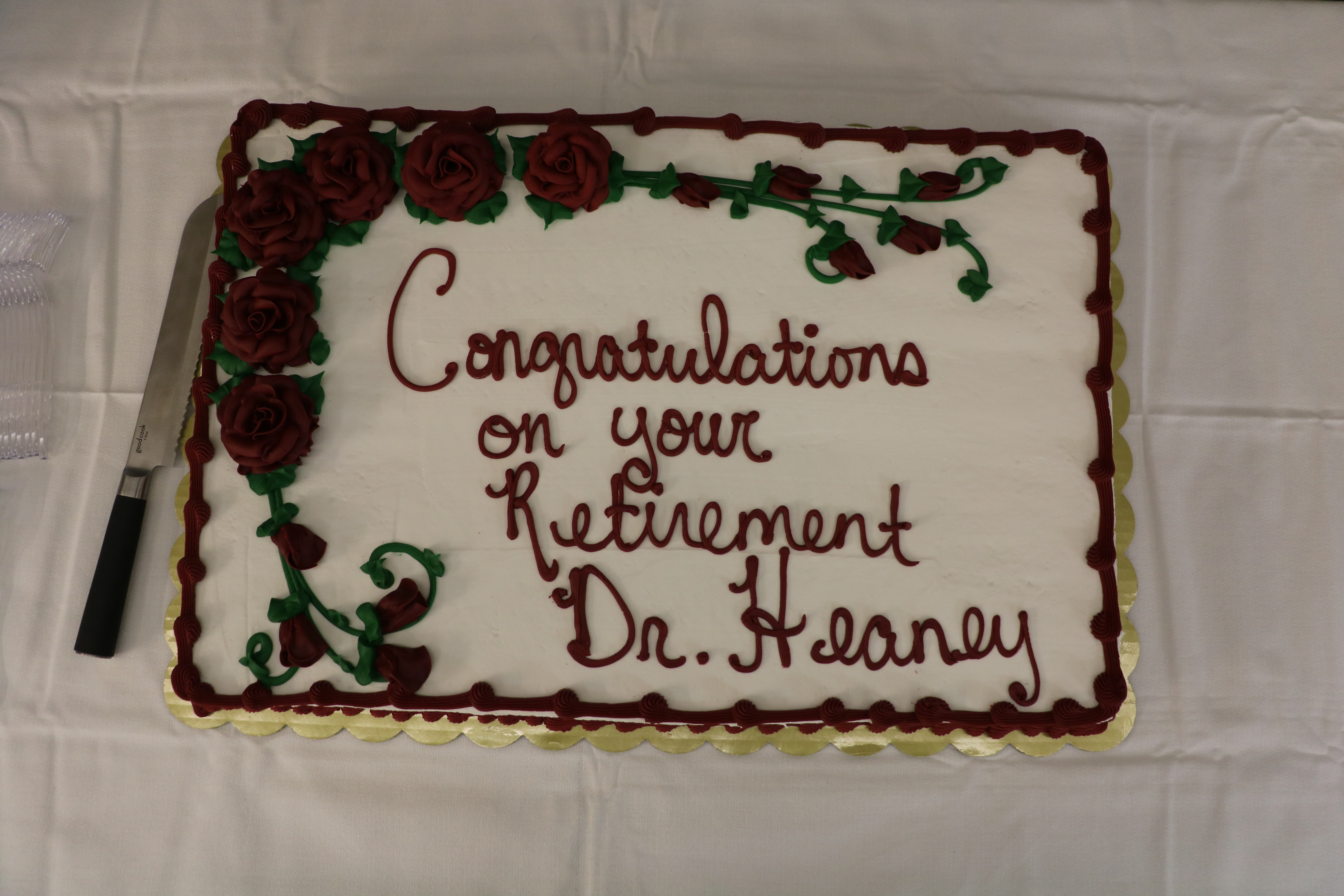 Dr. Michael Heaney Retires