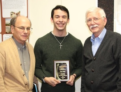 Meteorology student wins grand prize for virtual poster