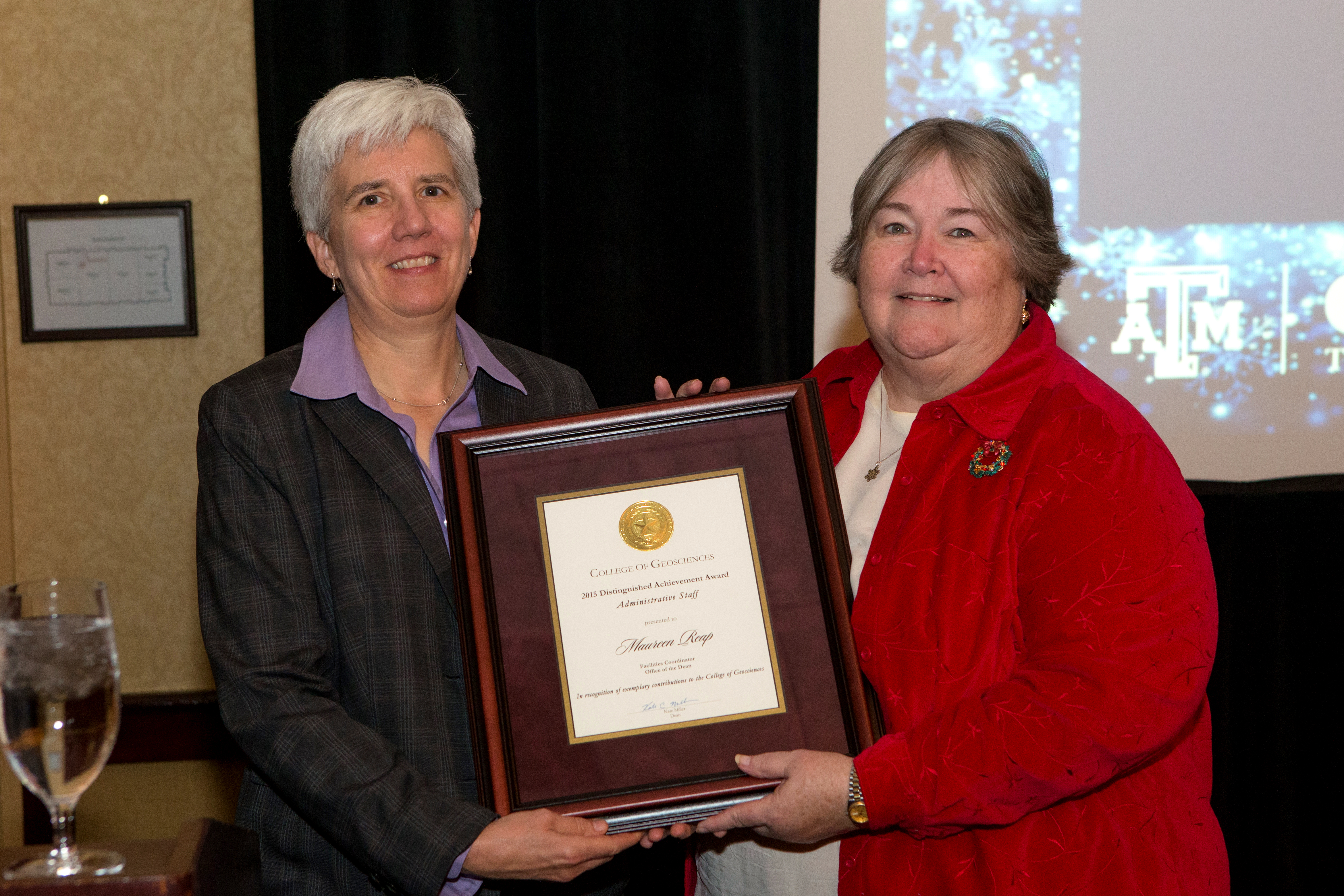 Facilities Director, Maureen Reap, retires from the College of Geosciences