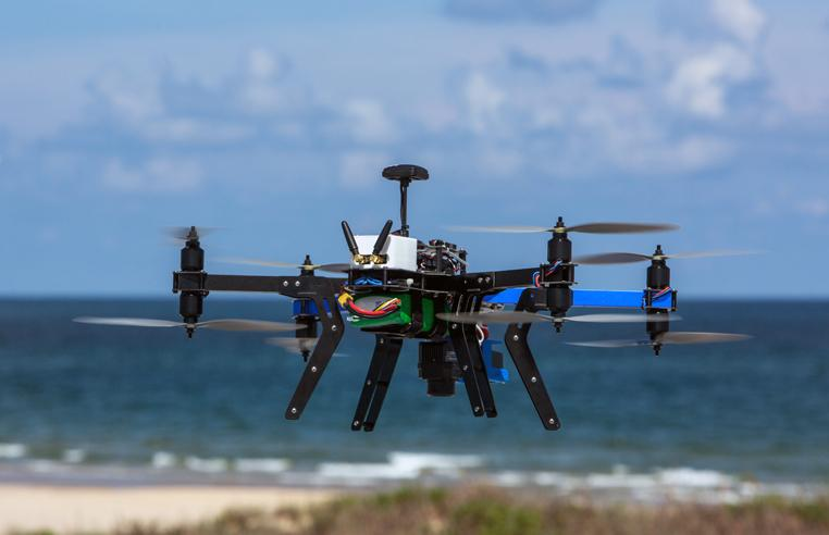 UAV flyovers survey South Texas red tide