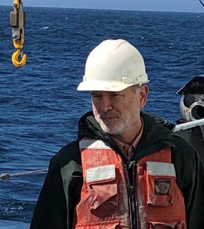 Dr. Niall Slowey, professor in the Department of Oceanography at Texas A&M University.