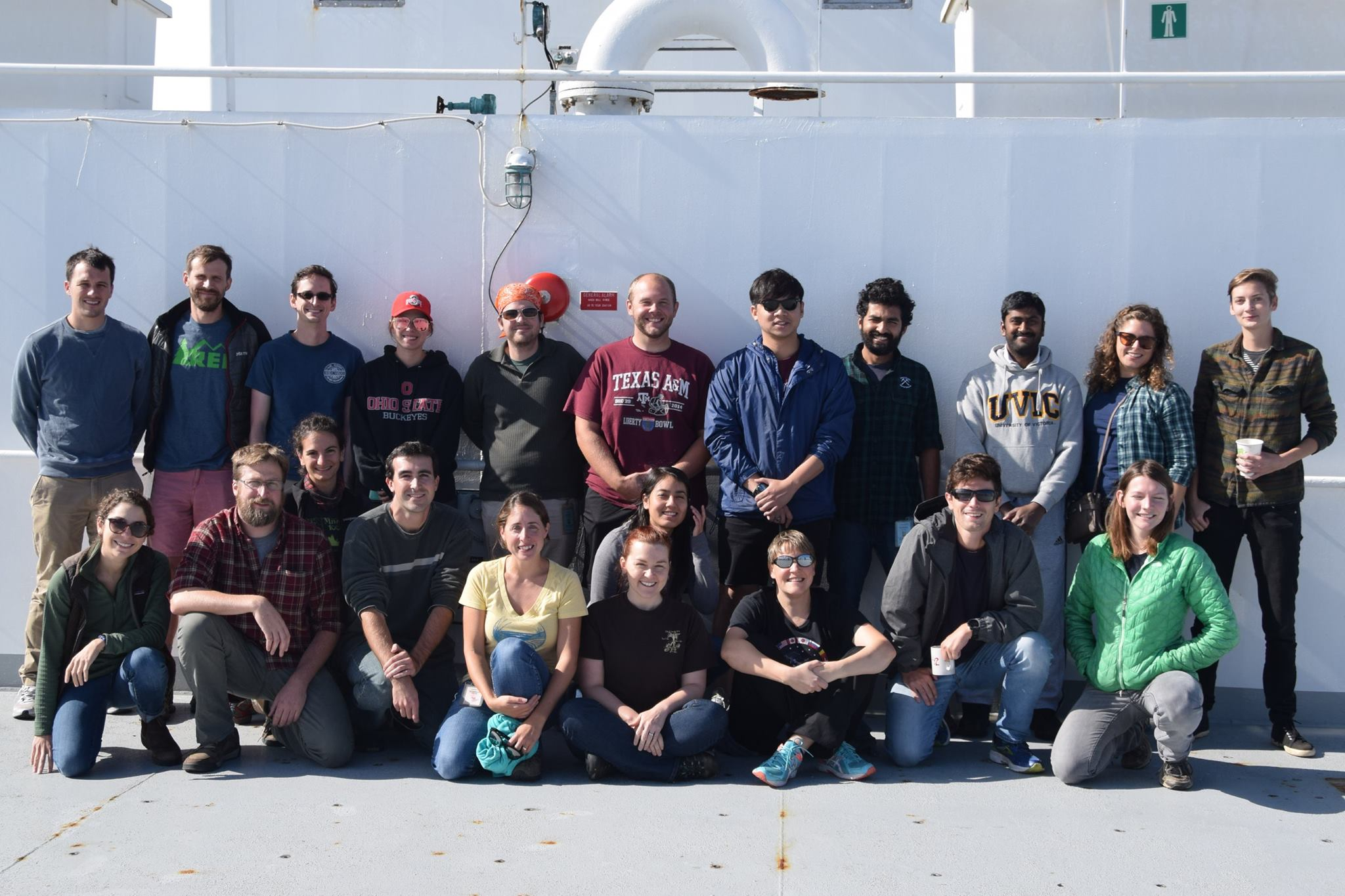 These Geology and Geophysics Students Learned What it Takes to be a Chief Scientist at Sea