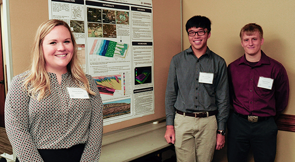 Geology & Geophysics Student Research Symposium highlights graduate and undergraduate work