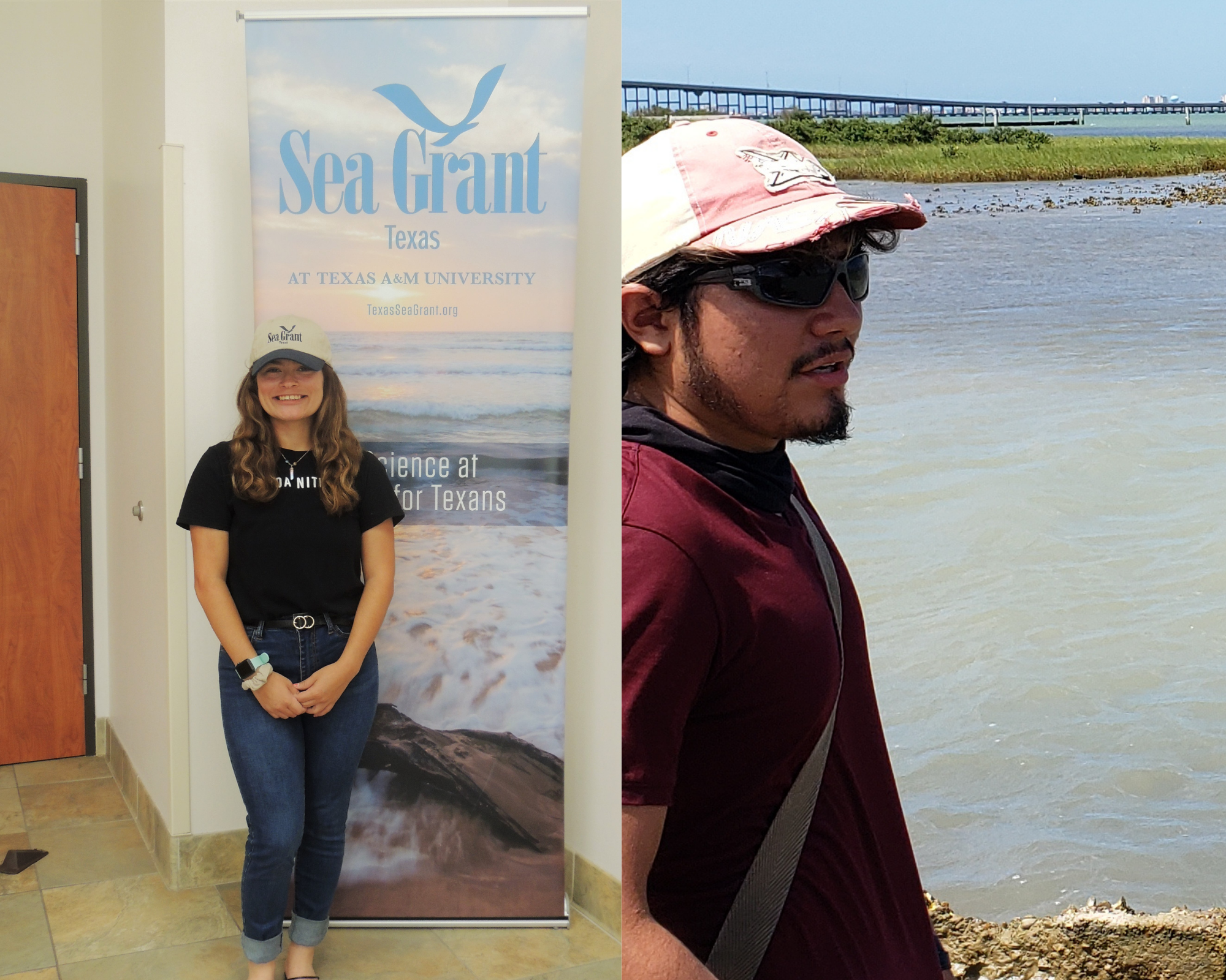 Texas Sea Grant Welcomes New Community Engaged Interns thumbnail